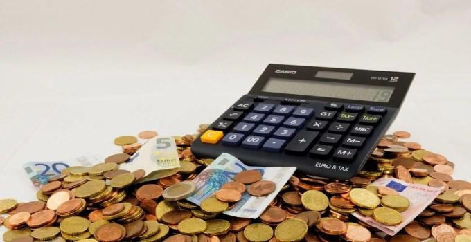 kalkulačka a peniaze