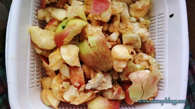 Doğal elma sirkesi yapımı