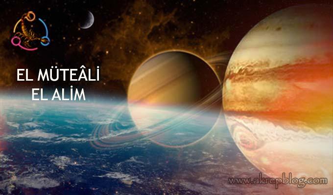 21 Aralık Satürn Jüpiter Kavuşumunda Okunabilecek Esmalar