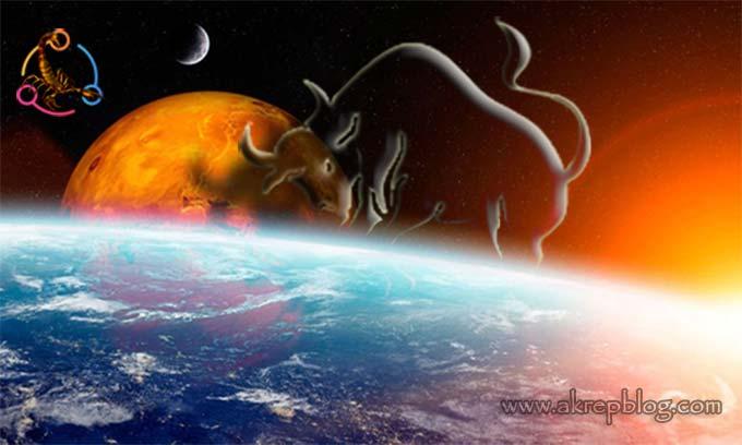 Mars Boğa Burcunda