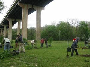 Y-Bridge Memorial Community Garden