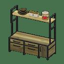 ACNH Bright Ironwood Kitchen - Best Animal Crossing Room ... on Animal Crossing Ironwood Kitchen  id=54680