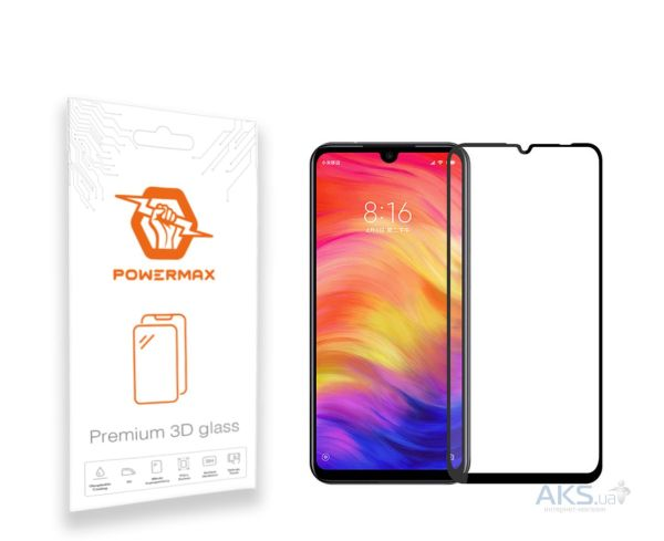 ᐅЗащитное стекло Powermax 3D Premium Xiaomi Redmi Note 7 ...