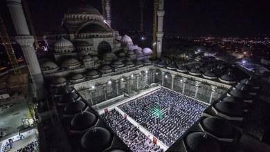 Photo of إحياء أول ليلة قدر في مسجد تشاملجا الأكبر في تاريخ الجمهورية التركية