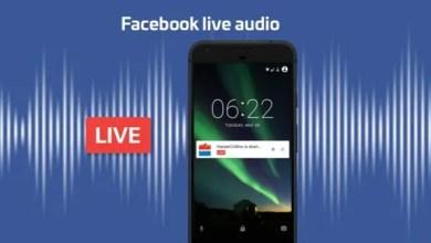 "Photo of "" فيس بوك "" تختبر وظيفة البث الصوتي المباشر"