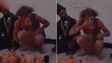 """Photo of بالفيديو .. تجربة مذيع أمريكي مع طائفة """" تأكل """" المخ البشري و البراز"""