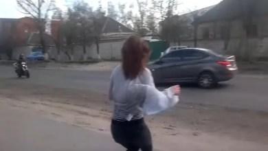 Photo of رقصة مثيرة لحسناء أوكرانية تؤدي إلى حادث قاتل