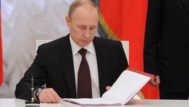 Photo of بوتين يوقع مرسوما يلغي قيودا اقتصادية مفروضة على تركيا