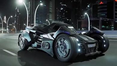 "Photo of بالفيديو .. سيارة "" باتمان "" بلوحات سعودية في شوارع دبي"