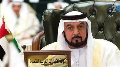 Photo of أول ظهور علني لرئيس الإمارات الشيخ خليفة بن زايد منذ 41 شهراً