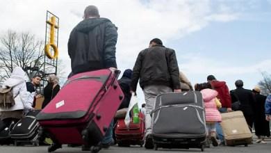 """صورة ألمانيا : توقعات بوصول مئات الآلاف من السوريين و العراقيين عبر """" لم الشمل """""""