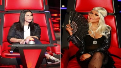 """صورة أحلام : سأكون كريستينا أغيليرا في برنامج """" ذا فويس """" بالنسخة العربية"""