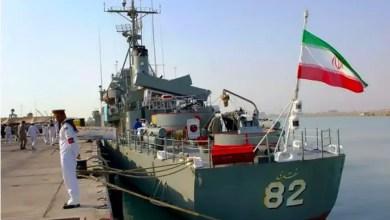 """صورة إيران بعد إعلان إسرائيل نشر """" القبة الحديدية """" في البحر : وجودنا في البحر المتوسط يرعبهم"""