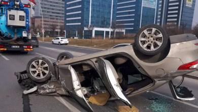 Photo of انقلبت السيارة لأكثر من 30 متراً .. تركيا : حادث سير ينتهي بأفراد عائلة سورية في المستشفى ( فيديو )