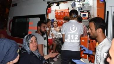 """صورة تركيا : نقل العشرات إلى المستشفى بعد """" تسمم جماعي """" في فندق """" 4 نجوم """" ! ( فيديو )"""