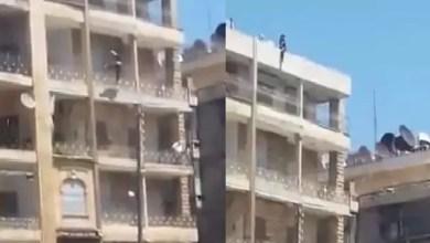 Photo of حلب : انتحار شابة بإلقاء نفسها من الطابق الخامس ( فيديو )