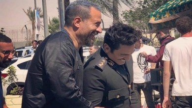 """Photo of الخوف يمنع تامر حسني من تصوير أهم مشاهد فيلم """" البدلة """""""