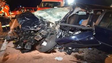 Photo of روسيا : سيارة تتحول إلى خردة في حادث مروري مروع ( فيديو )