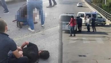 """صورة سألهم """" هل أنتم مسلمون """" ! .. تركيا : رجل يطعن أشخاصاً بسكين في وضح النهار و هو يقول """" أنا الشيطان """" ! ( فيديو )"""
