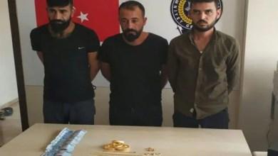 """صورة صحيفة تركية : """" القبض على عصابة سورية ينتحل أفرادها صفة رسمية و يحتالون بهذه الطريقة """" ( فيديو )"""