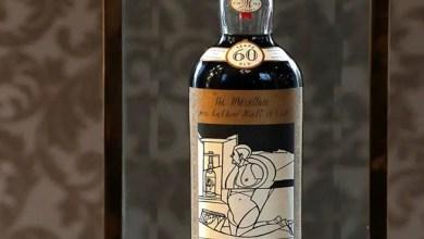 """Photo of بيع """" زجاجة ويسكي """" بـ 843 ألف دولار في مزاد بولاية نيويورك"""