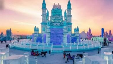 صورة مدينة هاربن الصينية تشهد أكبر مهرجان ثلج في العالم ( فيديو )