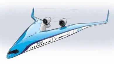 """صورة لأول مرة .. طائرة ستحمل ركابها """" في الجناحين """" !"""