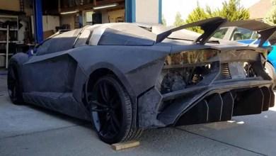 """Photo of أمريكي يصنع سيارة """" لامبورغيني """" بواسطة الطباعة ثلاثية الأبعاد"""