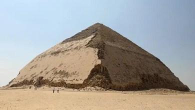Photo of مصر تفتح الهرم المنحني للملك سنفرو في دهشور للزائرين