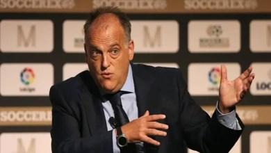 "Photo of رئيس الدوري الإسباني يعتبر إنفاق سان جرمان و سيتي "" خطراً "" على كرة القدم"