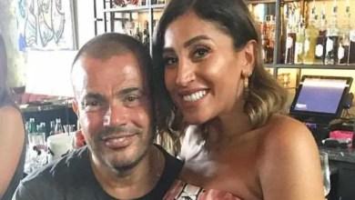 Photo of دينا الشربيني تضطر للاعتراف لأول مرة بزواجها من عمرو دياب