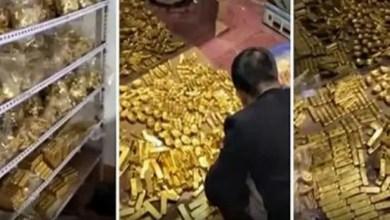Photo of الصين : العثور على 13.5 طناً من الذهب و مليارات الدولارات في منزل مسؤول سابق