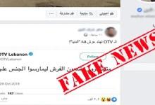 "Photo of حقيقة خبر "" متظاهرون يضعون الفرش لممارسة الجنس على جسر "" في لبنان"