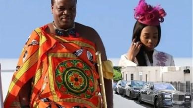 "Photo of ملك أفريقي يهدي زوجاته 19 سيارة "" رولز رويس """