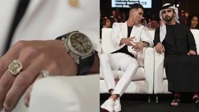"Photo of ما قيمة المجوهرات التي ارتداها رونالدو خلال حفل "" غلوب سوكر "" بدبي ؟"