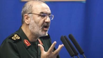 Photo of قائد الحرس الثوري الإيراني يهدد : ترقبوا صفعة قوية