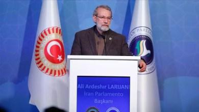 "Photo of رئيس البرلمان الإيراني : دور إيران و تركيا و روسيا "" مهم جداً "" للحل في سوريا"