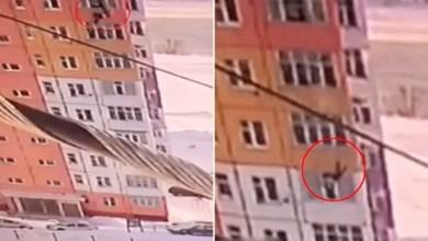 "Photo of امرأة روسية تسقط من الطابق التاسع .. و "" تكمل سيرها "" ! ( فيديو )"