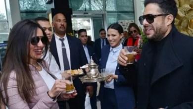 Photo of محمد حماقي يغضب زينة لرفضه مشاركتها معه في مؤتمره الصحافي