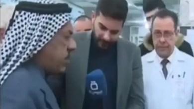 Photo of وفاة مسن عراقي أثناء مقابلة تلفزيونية على الهواء مباشرة ( فيديو )