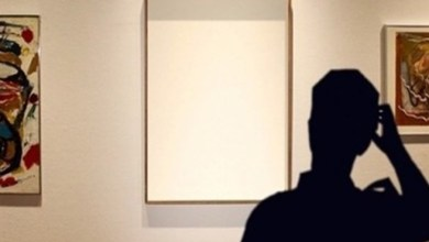 صورة رسام يسرق لوحات فنية و كاميرات المراقبة تصطاده في دبي