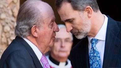 """صورة ملك إسبانيا يحرم والده من """" المصروف """" بسبب شبهة أموال سعودية"""