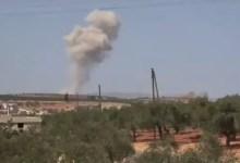 صورة وسط أنباء عن عملية جديدة للنظام .. سرب طائرات روسية يشن ما لا يقل عن 28 غارة في إدلب
