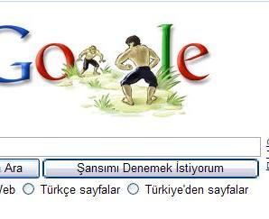 Kırk Pınar Yağlı Güreşleri ve Google Logosu