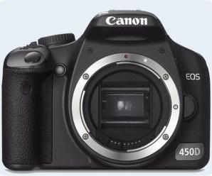 Canon EOS 450D Özellikleri