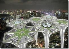 SKY-Terra Towers Gökyüzü Şehri Projesi