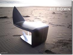 Sörf Tahtasından Koltuk Tasarımı