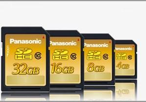 Panasonic ilk 32 GB Kapasiteli SD Kartı Duyurdu