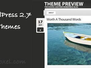 20 Kaliteli Bedava WordPress 2.7 Uyumlu Tema