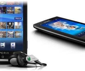 Sony Ericsson XPERIA X10 Android Telefonunu tanıttı